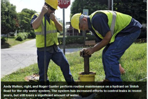 Millions Spent on Leaky Asheville Water System