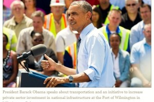 Obama Unveils New Initiative to Encourage Private Funding of Public Infrastructure