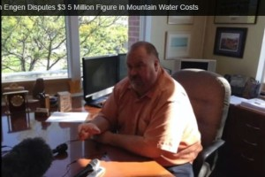 Mayor John Engen Disputes $3.5 Million Figure in Costs to Acquire Mountain Water Company