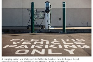 Utilities Push Into Fuel Stations for Electric Cars